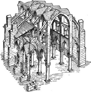 CONSTRUCTIVE SYSTEM OF GOTHIC CHURCH