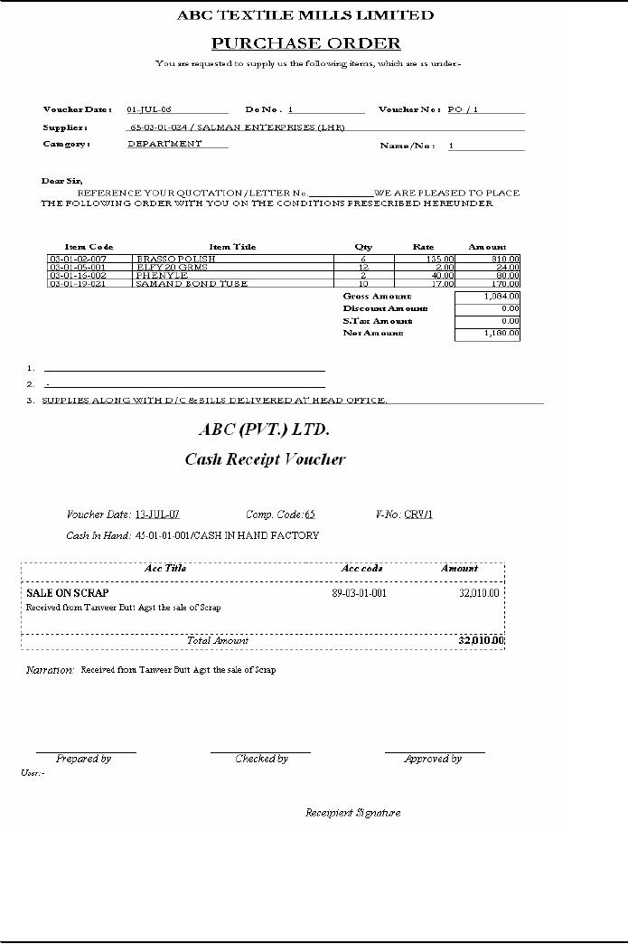 Receipt Of Rent Payment Books Of Account  Financial Statements Fundamentals Of Auditing  Download Invoices Excel with Creating Invoices In Quickbooks Word Img Rent Payment Receipt Sample