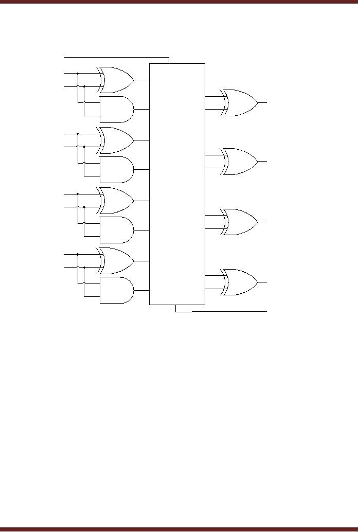 Implementation Of An Odd Parity Generator Circuit Digital